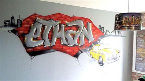 chambres d enfants graff artiste graffeur décorateur en