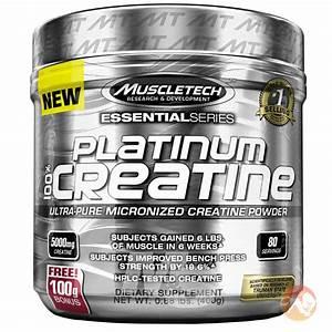 Buy Muscletech Platinum 100  Creatine Powder
