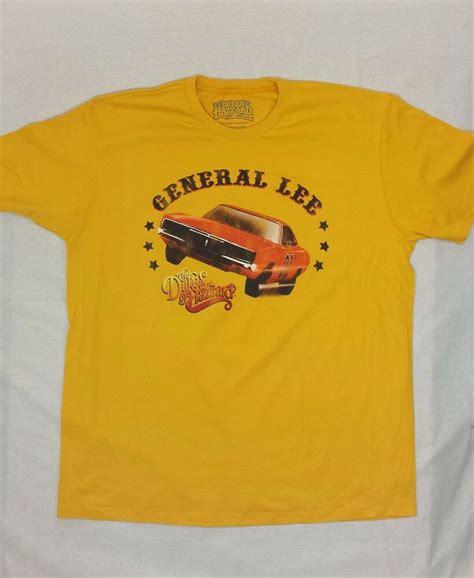 dukes  hazzard general lee  shirt ebay