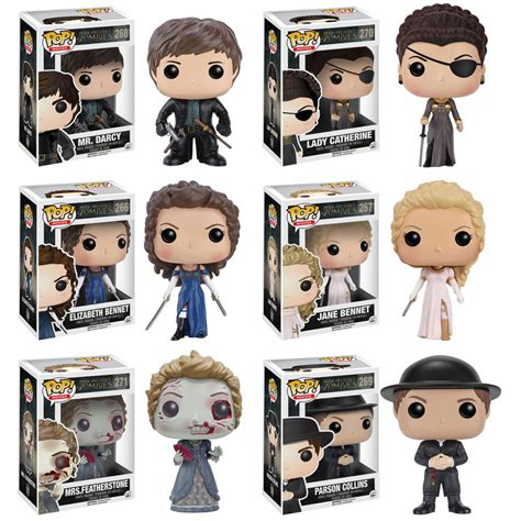 funko pop movies pride and prejudice and zombies