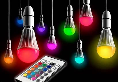 Led Changing Colour Bulb Lamp Remote Lighting