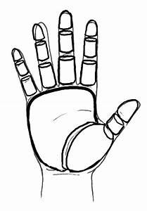 Open Hand Sketch - ClipArt Best
