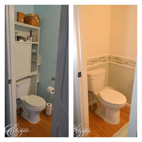 powder room makeover create  babble