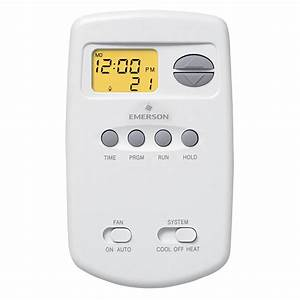 Emerson 5-2 Day Programmable Thermostat-1e78-151