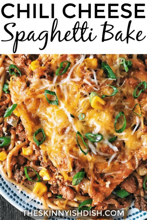 This breakfast casserole is a riff on the classic mexican breakfast chilaquiles. Chili Cheese Spaghetti Bake | Recipe | Baked spaghetti, Yummy casseroles, Easy meals