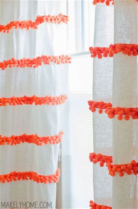 25 best ideas about pom pom curtains on