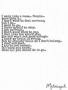 Anxiety quotes ... Funny Social Anxiety Quotes