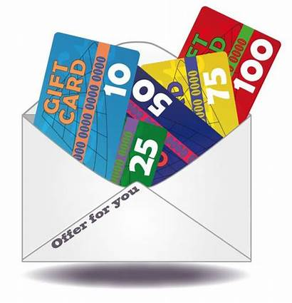 Gift Card Clipart Voucher Cards Mail Clip