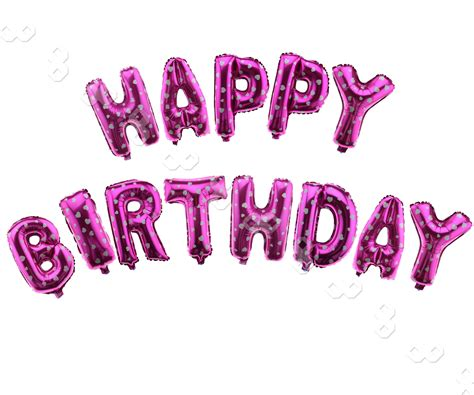 happy birthday letters 13 x quot happy birthday quot letters foil balloons for birthday