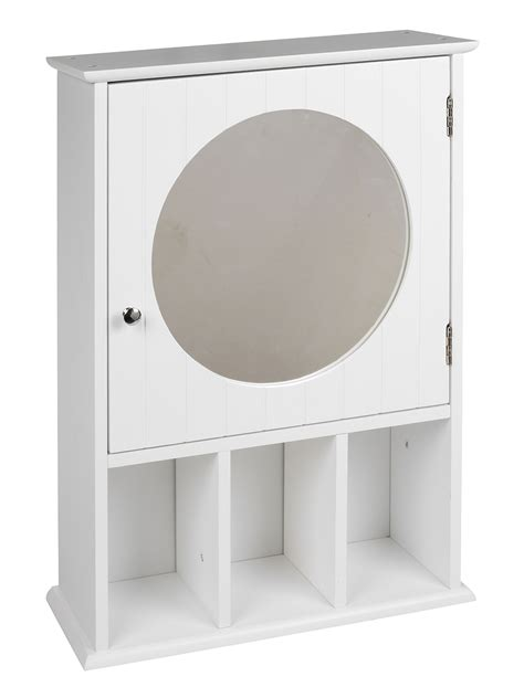 White Bathroom Cabinet With Mirror by White Wooden Wall Mounted Mdf Bathroom Mirror Cabinet