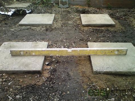 How To Lay Base For Shed by Laying A Shed Base Easy Shed