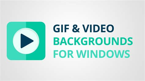 How To Put An Animated Wallpaper On Windows 10 - how to set gif or as background on windows