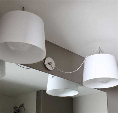 Replacing Bathroom Fixtures by A Great Solution For Replacing An Light Fixture Do