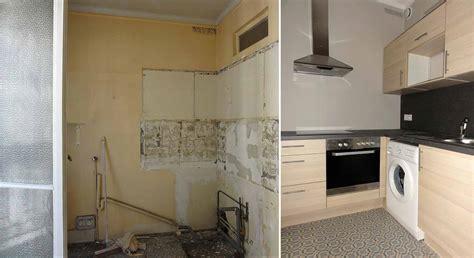 renovation cuisine bois avant apres rénovation cuisine avant après 20170917181418 tiawuk com