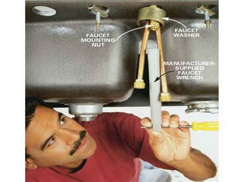 how to change a kitchen sink faucet kitchen how to change kitchen faucet with washer how to
