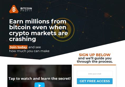 You're part of something great. The Bitcoin Profit Scam Is Shocking! Read My Honest Review ...