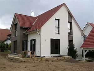 einfamilienhaus modern holzhaus zwerchgiebel mit With französischer balkon mit gartenzaun hagebau