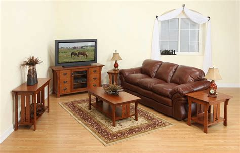 style couches mission style furniture sofa