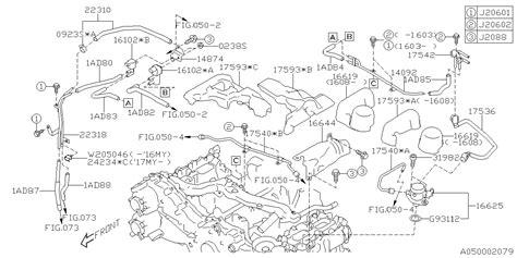 Subaru Intake Manifold Diagram by 14874aa470 Genuine Subaru Bracket Solenoid Valve