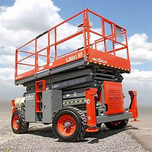 Skyjack Electric Scissor Lifts 8831 Rt    8841 Rt
