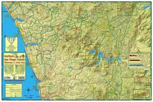 San Diego County Bike Trails Map