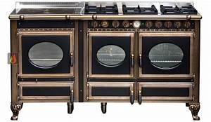 Plaque De Cuisson Gaz Et électrique : piano de cuisson bois gaz et lectrique 160cm avec 2 ~ Dailycaller-alerts.com Idées de Décoration
