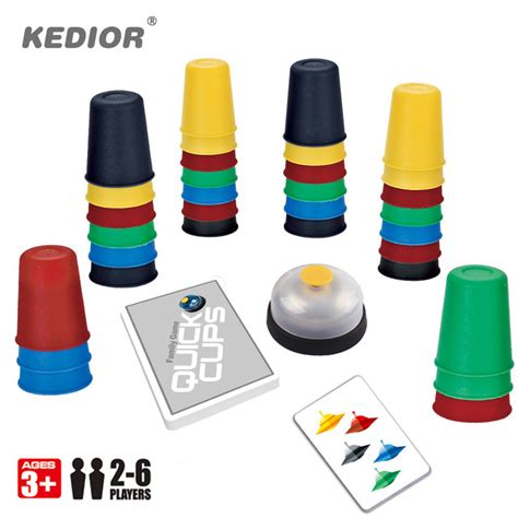 Speed Cups aliexpress buy 2 6 players speed cups fast reaction