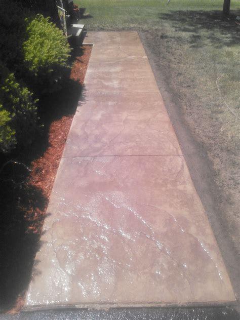 stamped concrete walkway binghamton ny snows building
