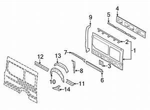 Ford Transit-350 Panel - Rear Corner