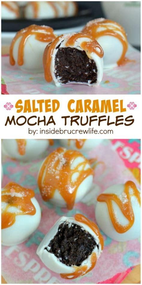 Salted Caramel Mocha Truffles Recipe Sweet Salted