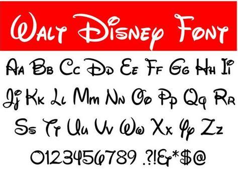 disney letter font walt disney font svg walt disney letters alphabet disney 28921