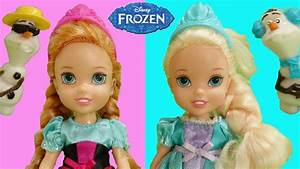 Frozen Baby Elsa and Anna Dolls Children With Olaf by ...