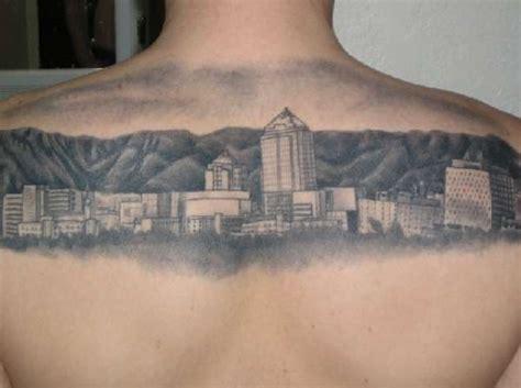 albuquerque skyline tattoo