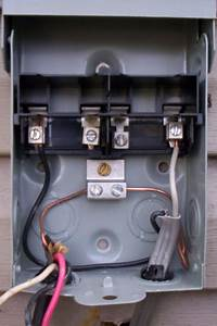 Ac Disconnect Switch Non Fused Wiring Diagram