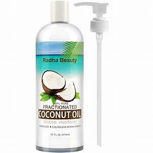 Fractionated Coconut Oil - 100% Pure carrier oil for ...