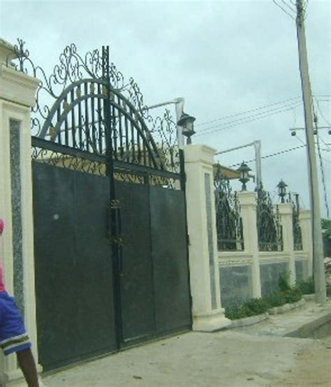 fence and gate prices fences and gates in pictures and prices properties 5 nigeria