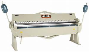 Baileigh BB-9612 Box and Pan Brake