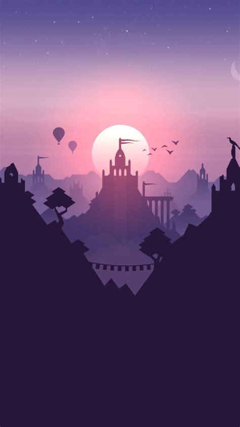 altos adventure minimalistic artwork