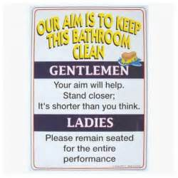 bathroom signs bathroom sign funny bathroom signs