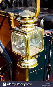 Vintage, Brass, Car, Lamp, Stock, Photo