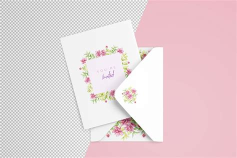 Download the best free invitation card mockup template for your next branding & promotion project. Download This Free Invitation Card PSD Mockup - Designhooks
