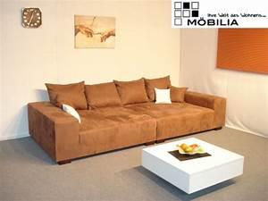 Big Sofa Microfaser : m bel big sofa megasofa microfaser couch polster braun giant 1 polsterm bel wohnen ~ Indierocktalk.com Haus und Dekorationen
