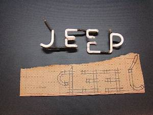 Kaiser Willys Jeep Sign Restoration