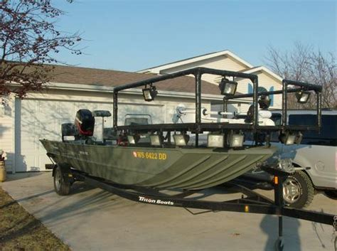 bowfishing decks for boats bowfishing lights page 2 tigerdroppings