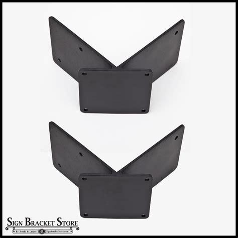 corner mount banner bracket adapter pair 90 degrees 2