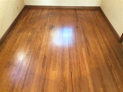hardwood floors unlimited top nailed red oak hardwood before picture yelp
