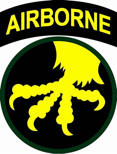 Airborne Patch Clipart Military Division States United