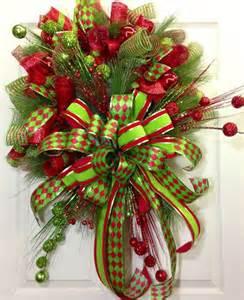 Deco Mesh Ribbon Christmas Tree