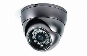 Camera Dome Exterieur : cam ra infrarouge d me en m tal pour vid osurveillance ~ Edinachiropracticcenter.com Idées de Décoration