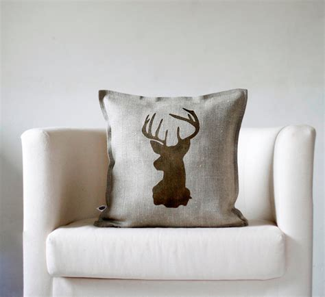 These stylish reindeer pillow covers are made from 100%